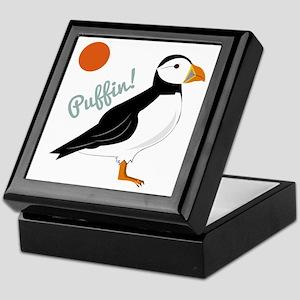 Puffin! Bird Keepsake Box