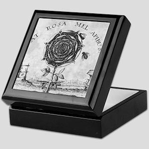 Rosicrucian mystical symbol Keepsake Box
