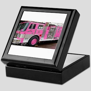 Pink Fire Truck (real) Keepsake Box