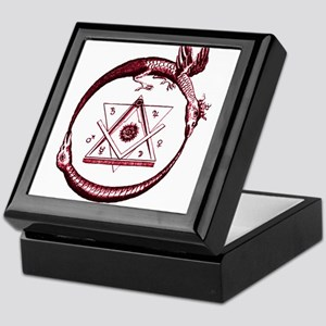 Alchemical Ouroboros Keepsake Box