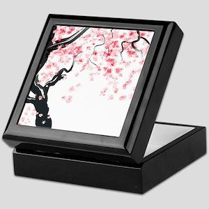 Japanese Cherry Tree Keepsake Box