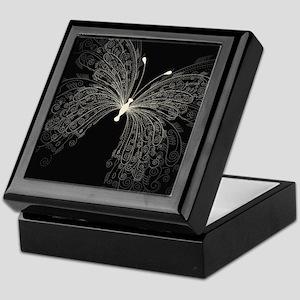 Elegant Butterfly Keepsake Box