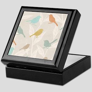 Pretty Birds Keepsake Box