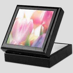 Beautiful Tulips Keepsake Box
