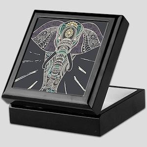Indian Elephant Keepsake Box