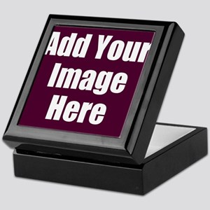 Add Your Image Here Keepsake Box