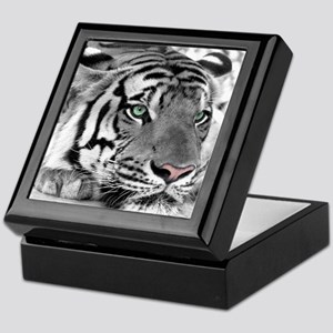 Lazy Tiger Keepsake Box