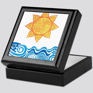 Sun and Sea Keepsake Box