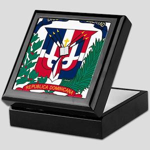 Dominican Republic Coat Of Arms Keepsake Box