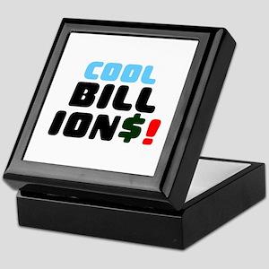 COOL BILLIONS! Keepsake Box