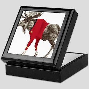 Moose Red Shirt Keepsake Box