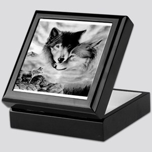 Wolves Keepsake Box