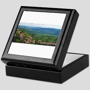 Pennsylvania Mountain Laurel Keepsake Box