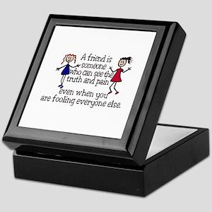A Friend Is Keepsake Box