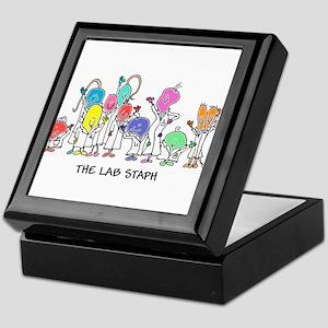 The Lab Staph Keepsake Box