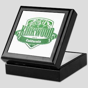 Kirkwood California Ski Resort 3 Keepsake Box
