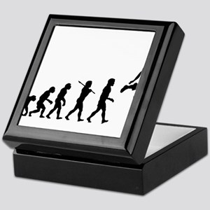 Basketball Evolution Jump Keepsake Box