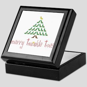 Merry Twinkle Toes Keepsake Box