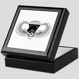 Airborne Jump Wings Keepsake Box