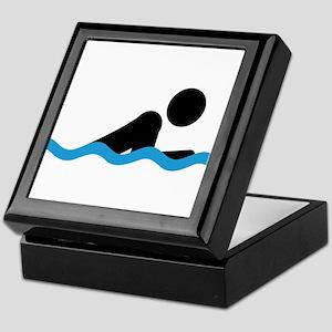 breaststroke Keepsake Box