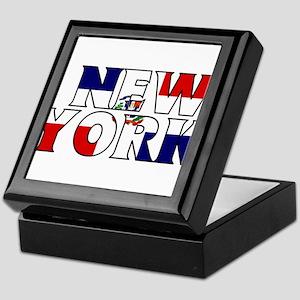 New York - Dominican Republic Keepsake Box