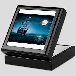 Moonlight Pirates Keepsake Box