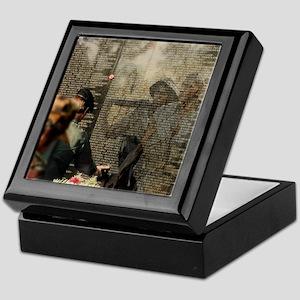 Vietnam Veterans Memorial Keepsake Box