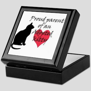 Adopted Kitty Keepsake Box