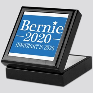 Bernie Sanders Hindsight is 2020 Keepsake Box