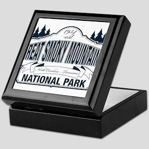 Great Smoky Mountains National Park Keepsake Box