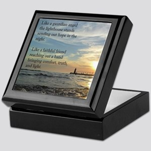Lighthouse Keepsake Box