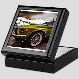70 Mustang Mach 1 Keepsake Box