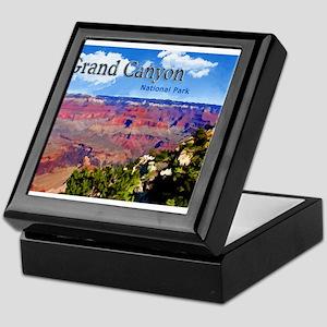 Grand Canyon NAtional Park Poster Keepsake Box