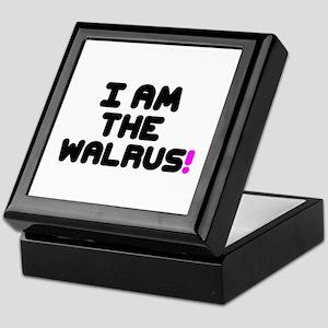 I AM THE WALRUS! Keepsake Box