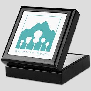 Mountain Music Keepsake Box