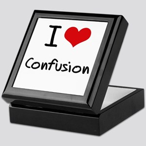 I love Confusion Keepsake Box