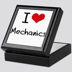 I Love Mechanics Keepsake Box