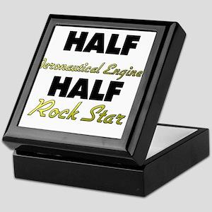 Half Aeronautical Engineer Half Rock Star Keepsake