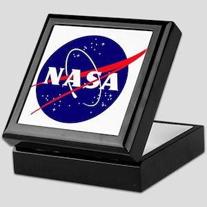 NASA Meatball Logo Keepsake Box