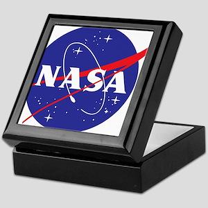 NASA Logo Keepsake Box