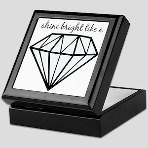 Shine Bright Like a Keepsake Box