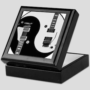 Guitar Yin Yang Keepsake Box