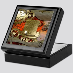 Steampunk witch hat Keepsake Box