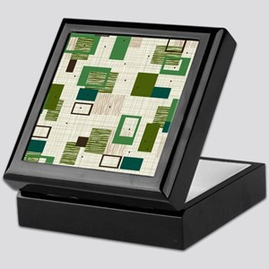 Makanahele Mid Century Modern Keepsake Box