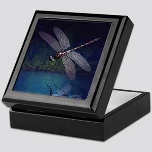 Dragonfly at Night Keepsake Box