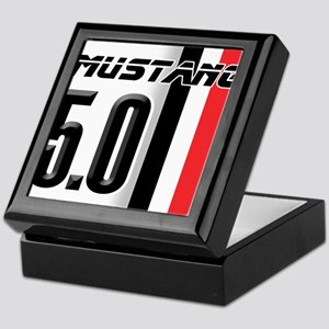Mustang 5.0 BWR Keepsake Box