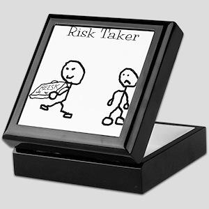 Risk Taker Keepsake Box