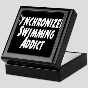 Synchronized Swimming Addict Keepsake Box
