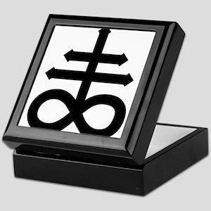 Hermetic Alchemical Cross Keepsake Box