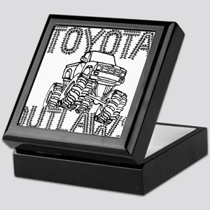 Toyota Outlaws Logo Keepsake Box